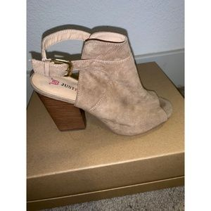 JustFab Booties. Good condition. Super cute!